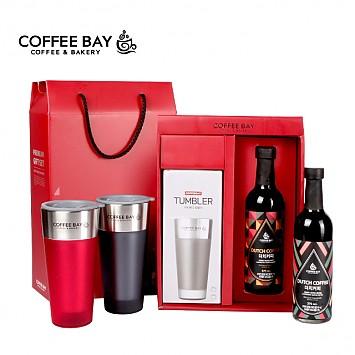 [온라인독점판매] 커피베이더치+라지베리 텀블러Set